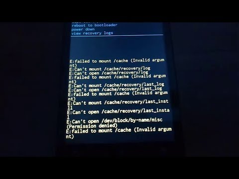 Trik atasi masalah Failed To Mount System (Invalid Argument) pada Himax H Classic via TWRP